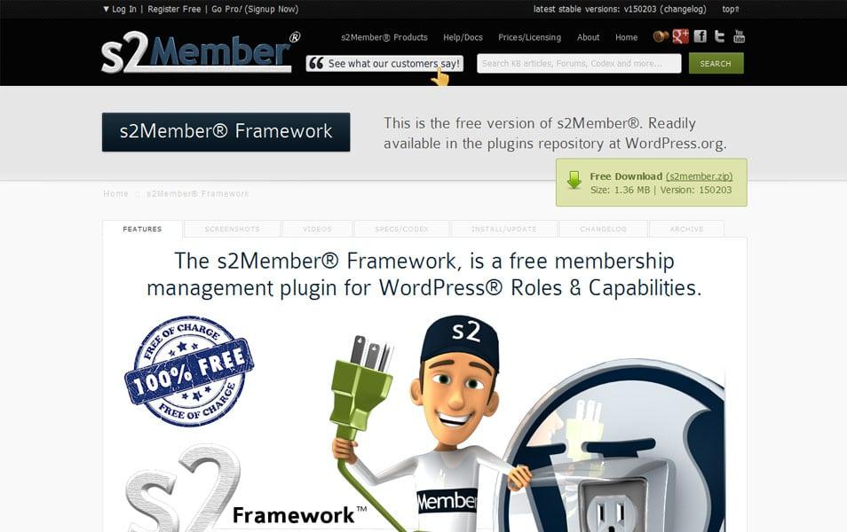 s2Member Framework