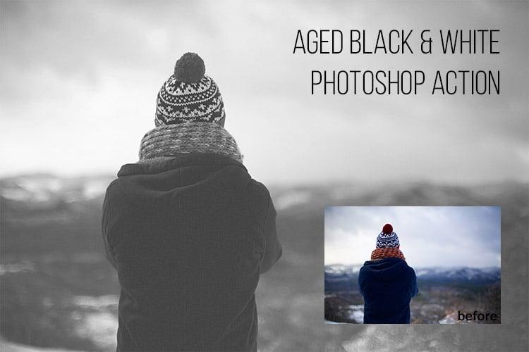 Aged Black & White