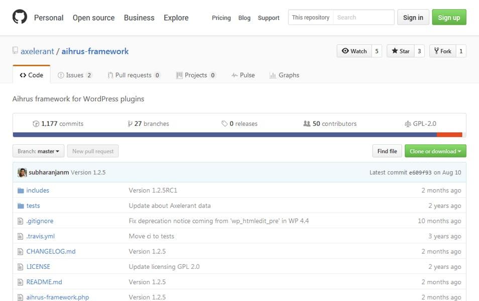 Aihrus Framework