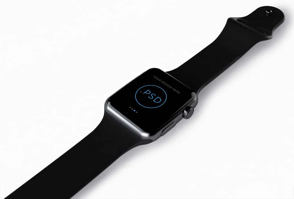 Apple Watch Free Mockup PSD_ver.2