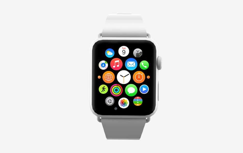 Apple Watch Mockup Front PSD