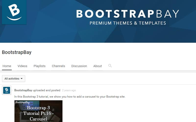 best channels for web designers and developers