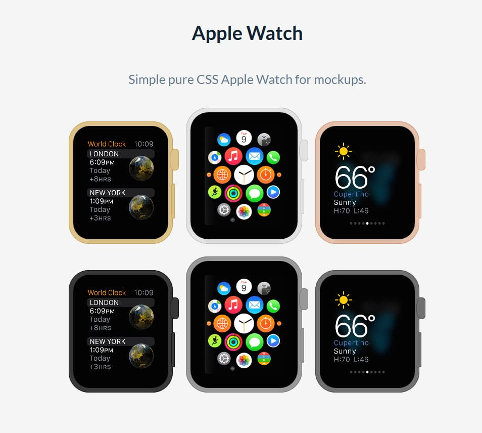 CSS Apple Watch