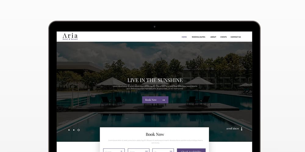 Ceatr Free Agency Web Template PSD