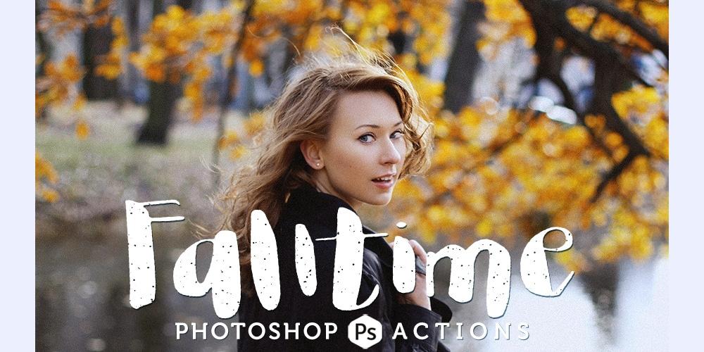 Falltime-Photoshop-Action
