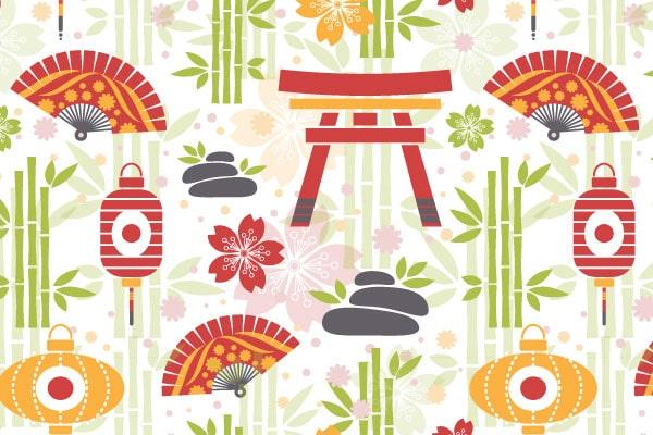 Flat Oriental Pattern