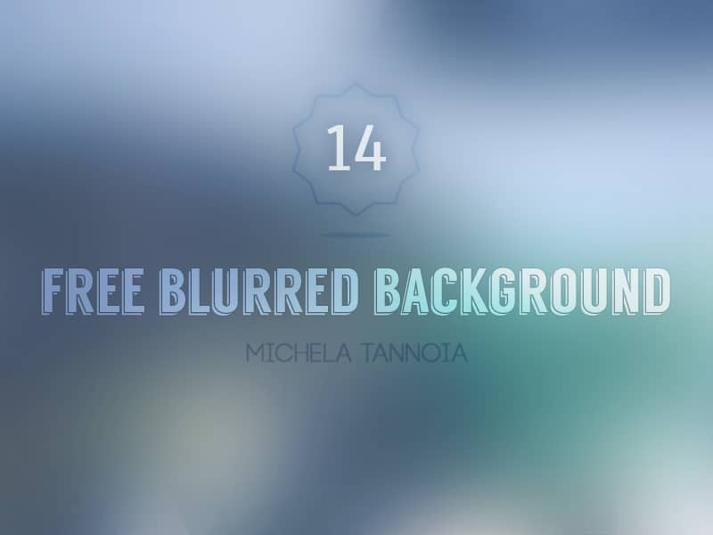 Free Blurred Background