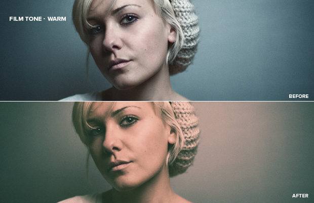 Free Film Photoshop Actions