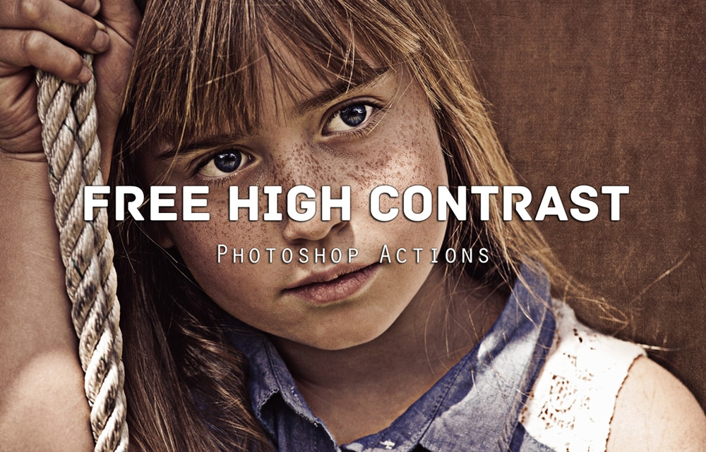 Free High Contrast Photoshop Actions