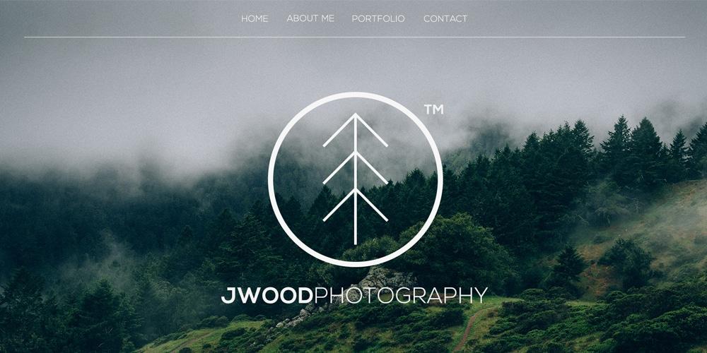 Free One Page Portfolio Template PSD