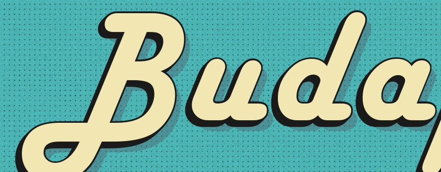 Free Retro Illustrator Text Effects