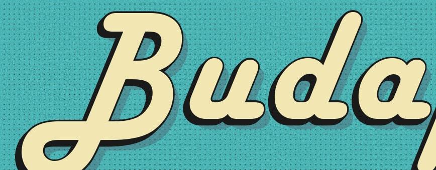 Free Retro Illustrator Text Effects