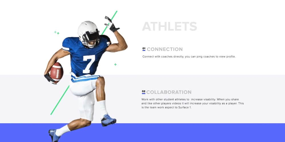 Free Sports Landing Page Template