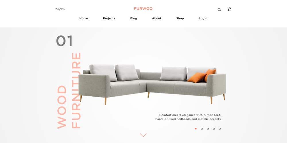 Furwoo - Free Shop Tempate PSD