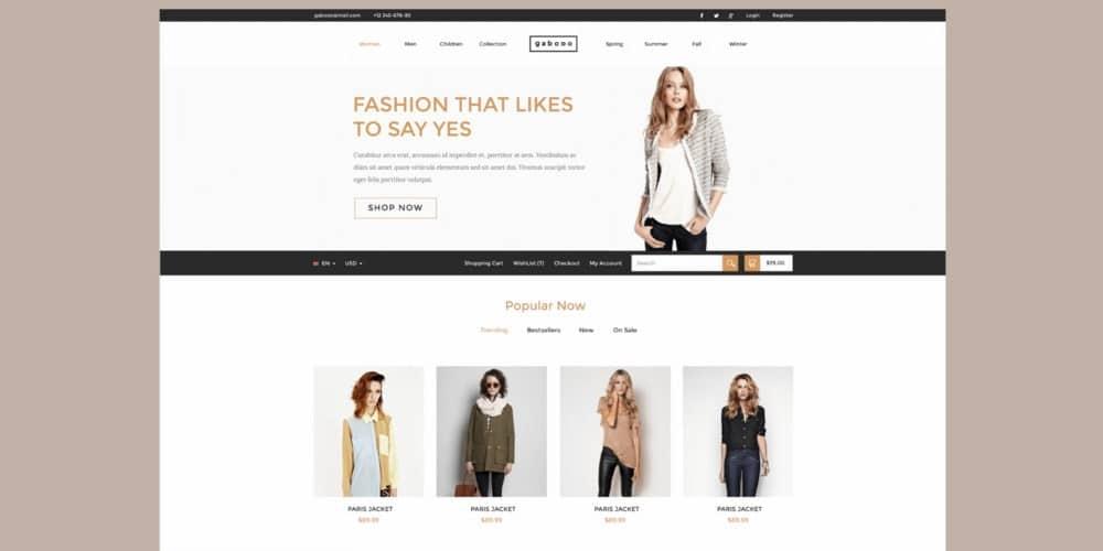 Gabooo-Free-Fashion-eCommerce-Theme-PSD