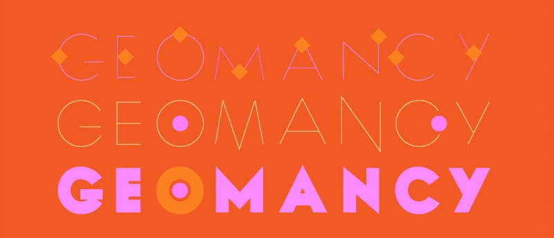 Geomancy Typefaces