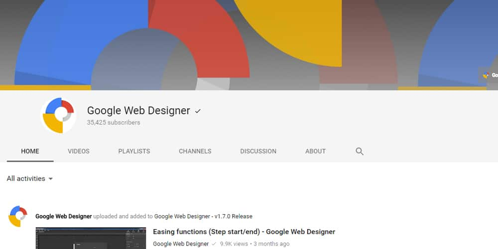 best youtube channels for web designers and developers