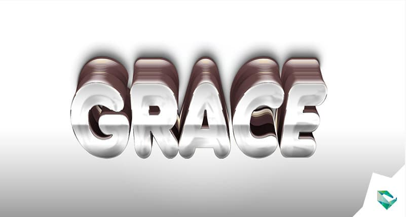 Grace Free 3d Text Effects Style