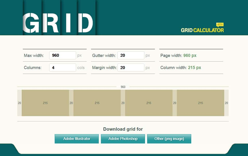 Grid Calculator