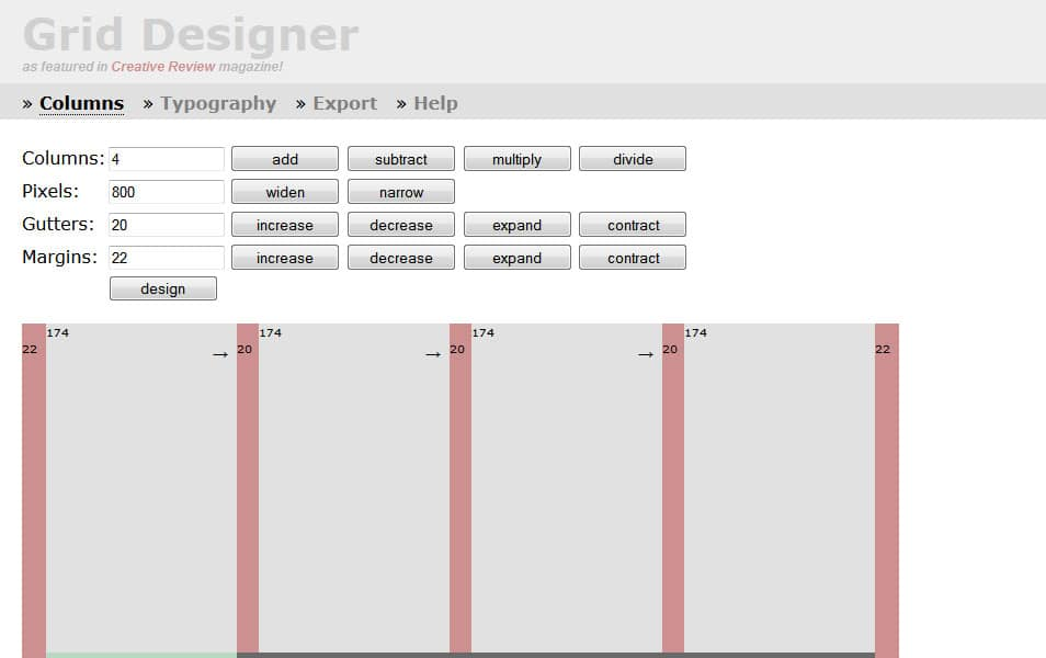 100 Best Grid Systems Amp Tools For Responsive Design