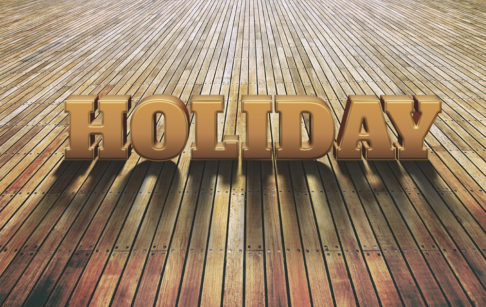 Holiday Text Style PSD
