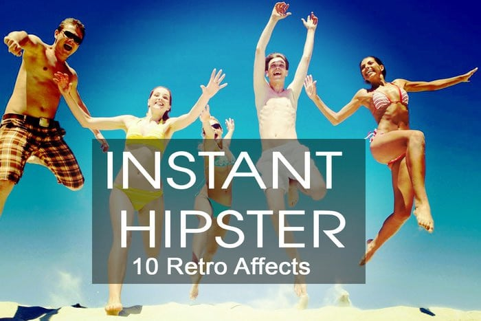 Instant Hipster Retro Actions