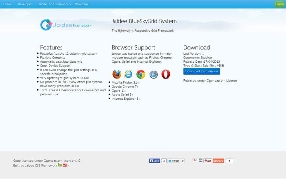 Jaidee BlueSkyGrid System