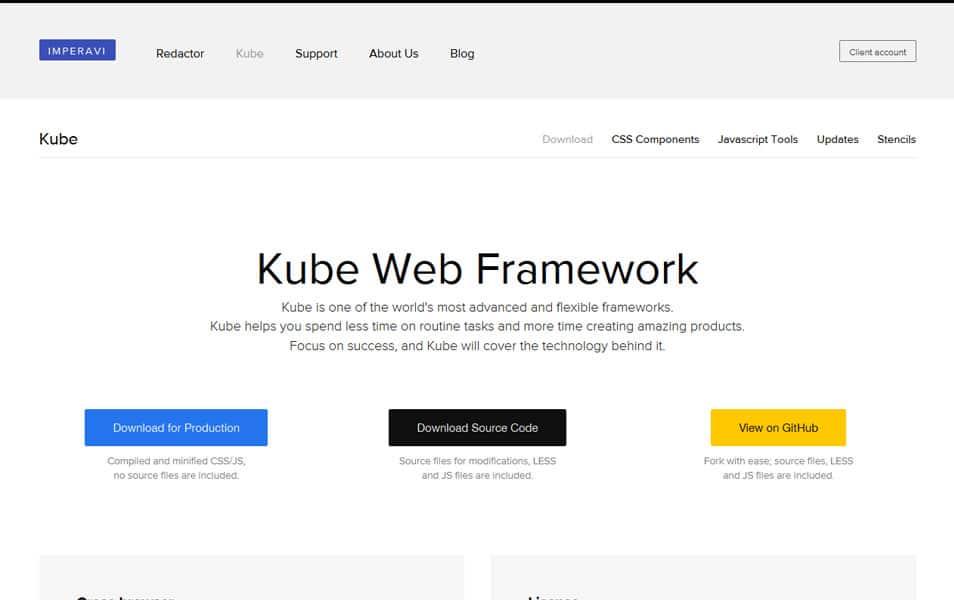 Kube Web Framework
