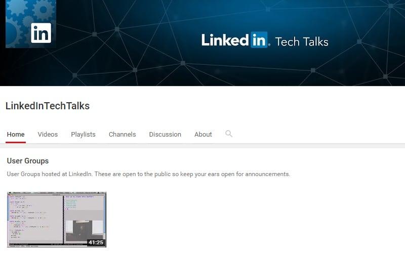 LinkedIn Tech Talks