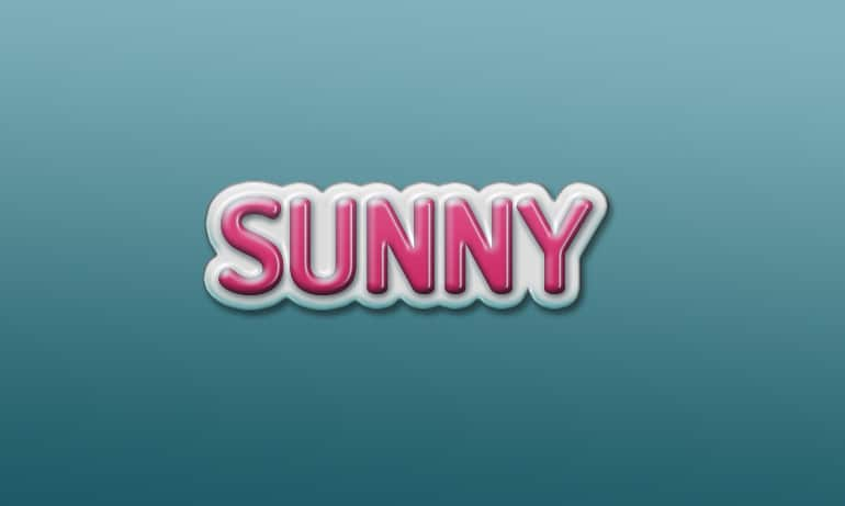 Pinky Glossy Text Effect PSD