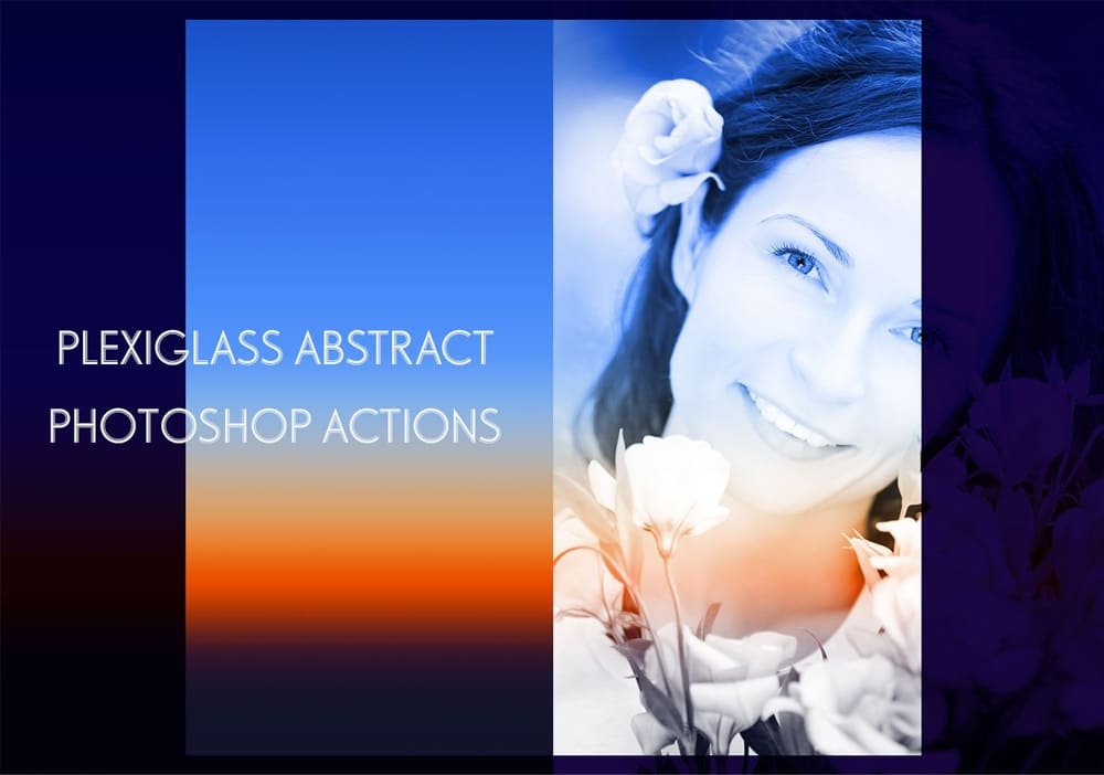 Plexiglass Photoshop Actions