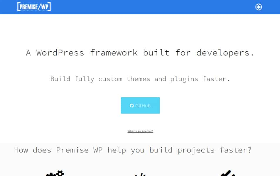 Premise WP Framework