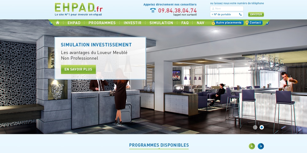 Real Estate Free Homepage PSD