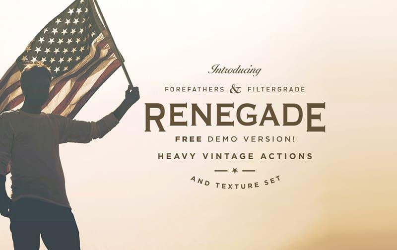 Renegade Free Vintage Actions
