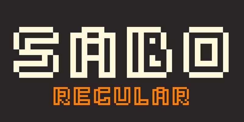 Sabo Free Font