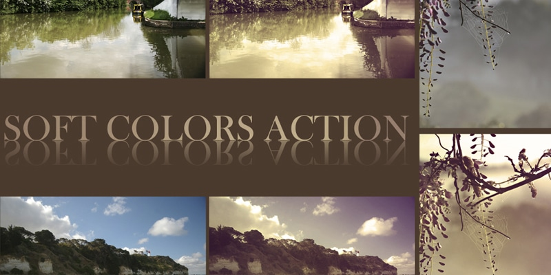 Soft Colors Photoshop Action