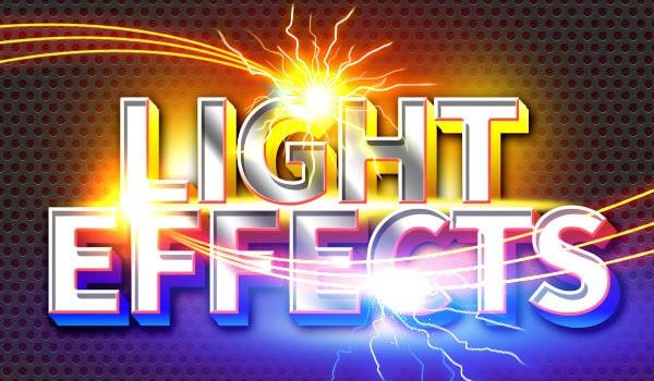 Sparkle & Light Effects PSD