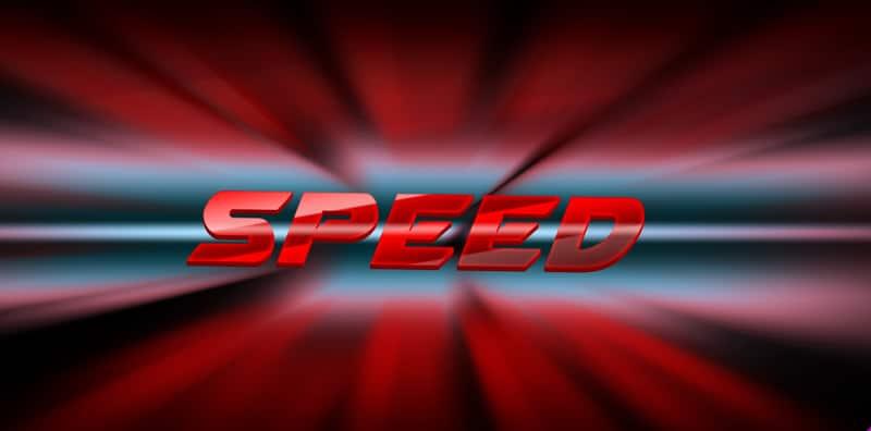 Speed Text Effect PSD