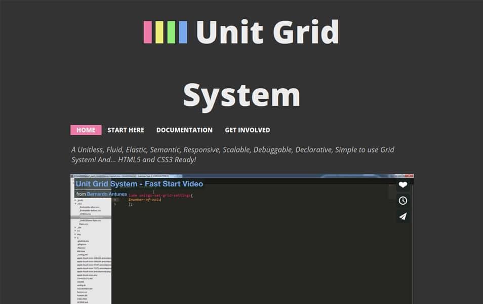 Unit Grid System