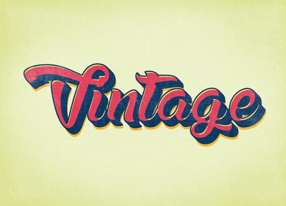 Vintage & Retro Styles