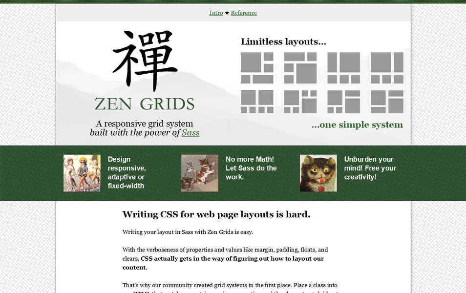 100 best grid systems tools for responsive design zen grids is a responsive grid system built with compass and sass malvernweather Image collections