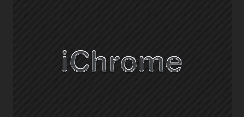 iChrome Free Photoshop Effect PSD