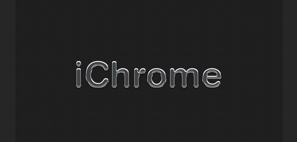 iChrome Free Photoshop Effect PSD