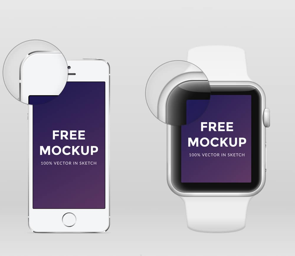 Apple Watch and iPhone Mockup
