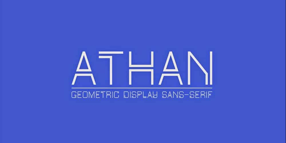 Athan Typeface