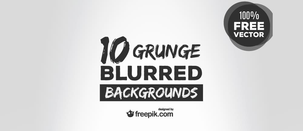 Blurred Grunge Vector Backgrounds