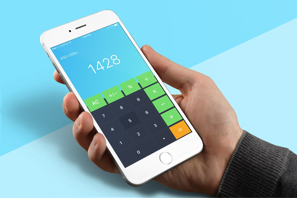 Calculator App UI
