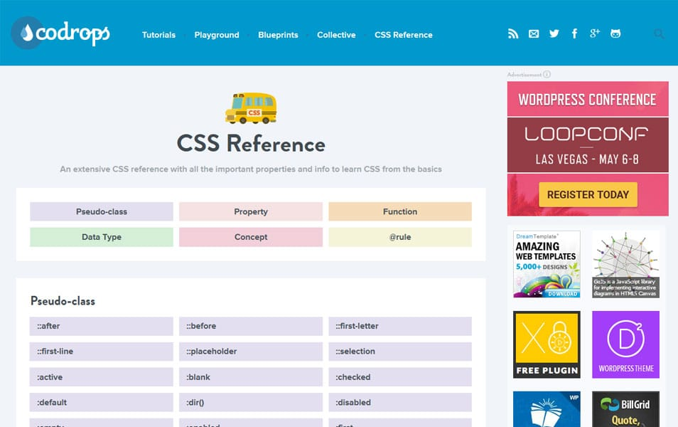 Codrops CSS Reference