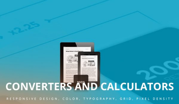 Converters and Calculators for Responsive Design