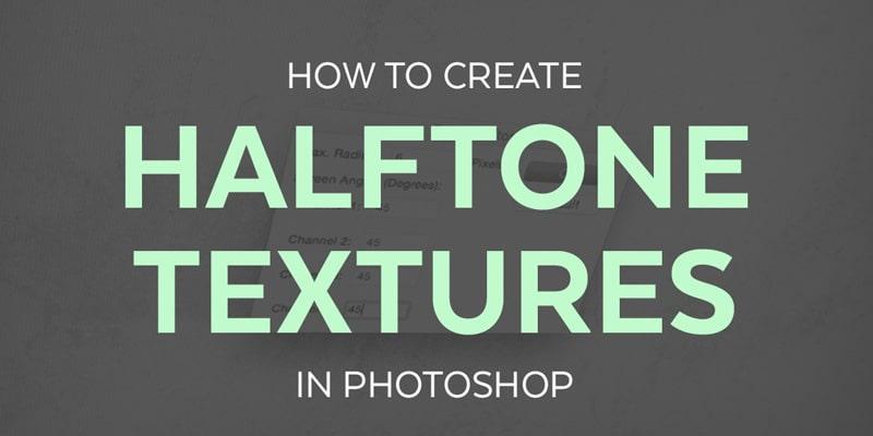 Create Halftone Textures